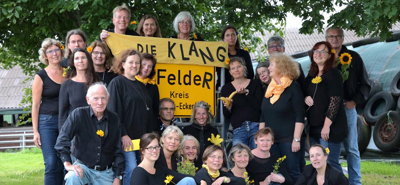Klangfelder Chormitglieder